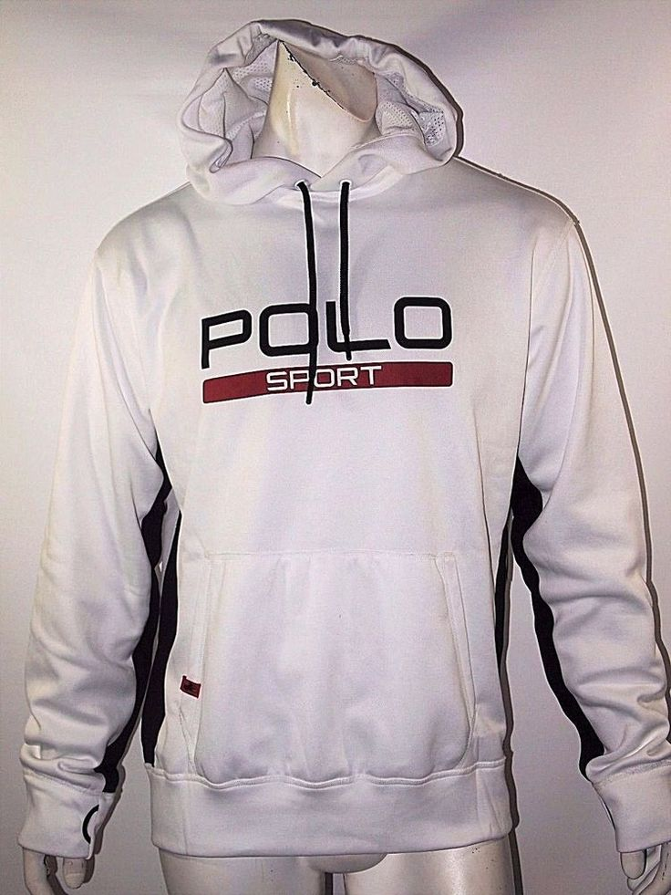 Polo Sport Ralph Lauren tech fleece men's hoodie size large NEW with TAGS  #PoloRalphLauren #Hoodie