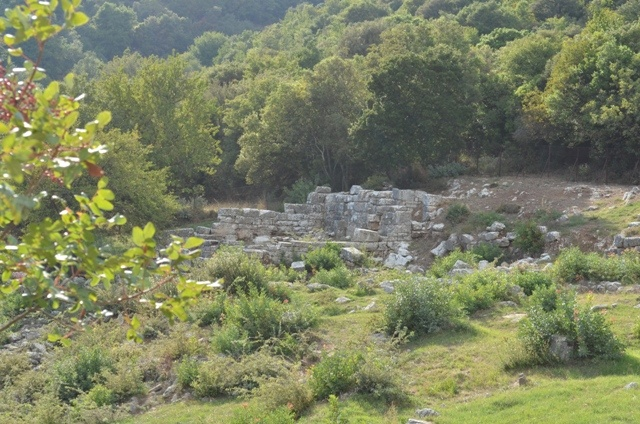 Temple of Despoina at Lykosoura, the oldest city of the world