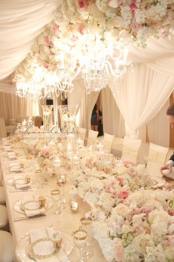 Opulence and elegance from @karentran #MasterclassExperience. Simply gorgeous reception decor!
