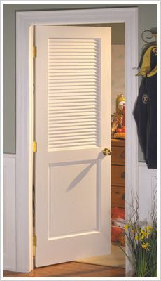 The Attractive Louvered Interior Doors to Enhance the Beauty of ...