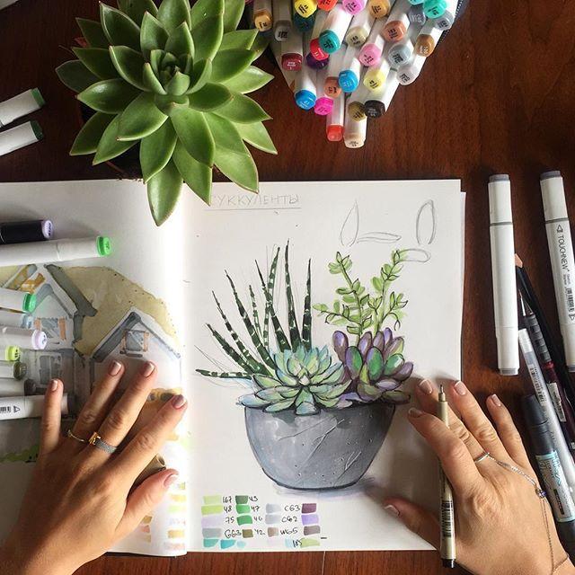 WEBSTA @ interior_sketch - ☘ рисую клумбы и изучаю растения))) …