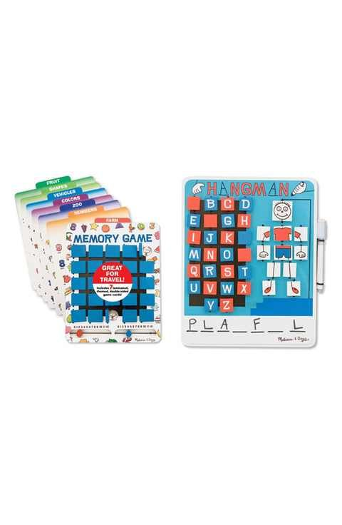 Melissa & Doug 'Flip to Win' Hangman and Memory Games (Set of 2)