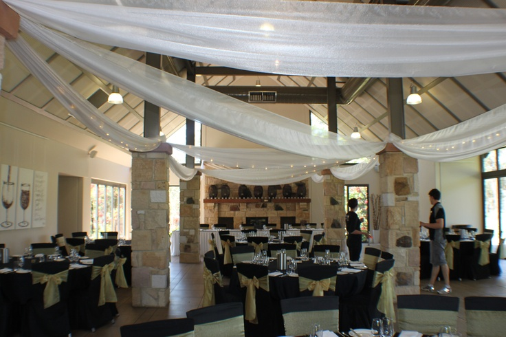 #wedding #weddingreception #ceilingdrapery #drapery #fairylights