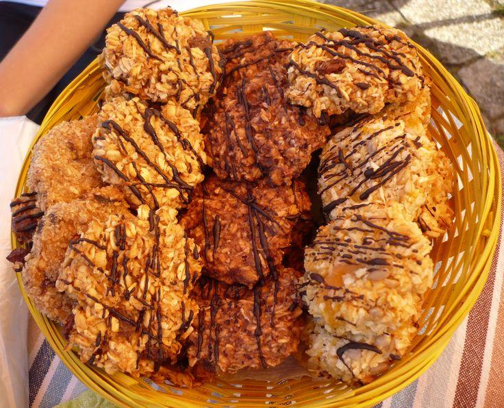 Ovesné sušenky s čokoládou
