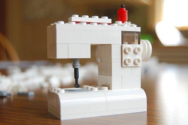 Lego Sewing Machine--cute