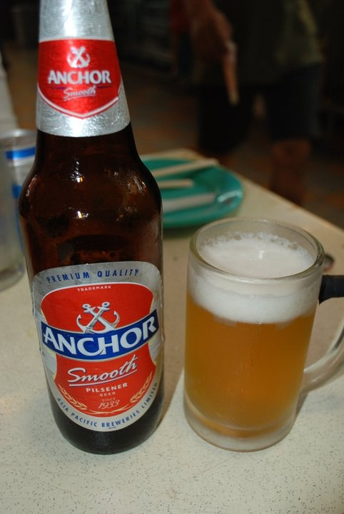 Anchor Beer in Singapore