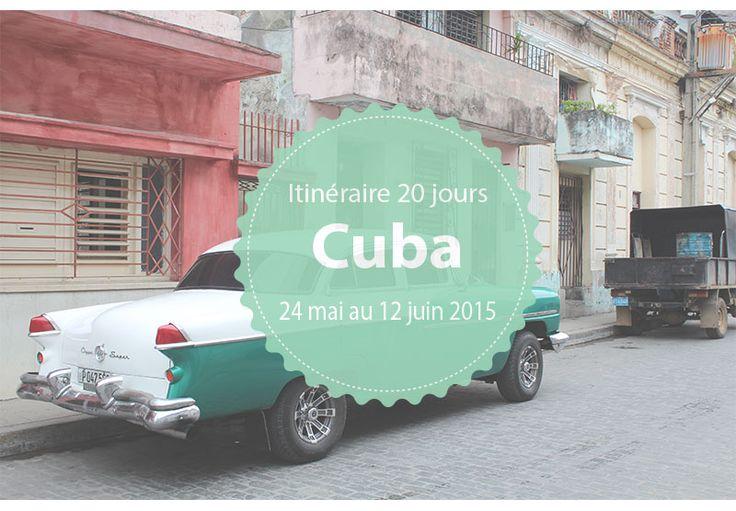 Je vous livre mon itinéraire à Cuba de 20 jours dont 14 dans une boucle en voiture de location. Mes impressions, mon budget et mes adresses utiles.