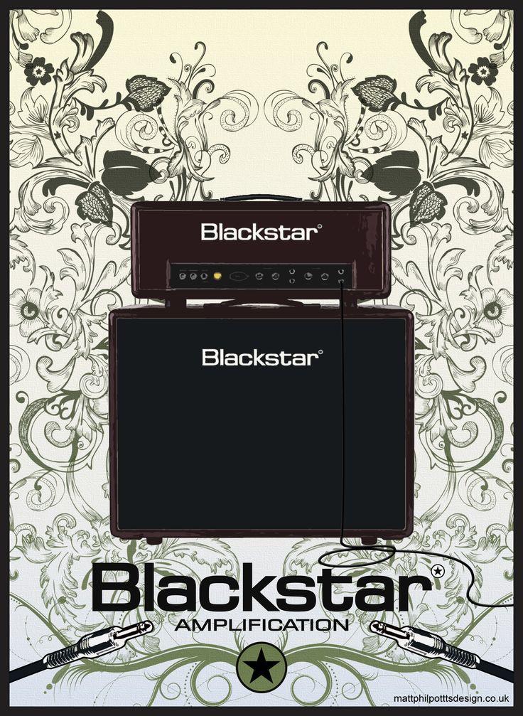 Design for Blackstar Amplification's Artisan range.