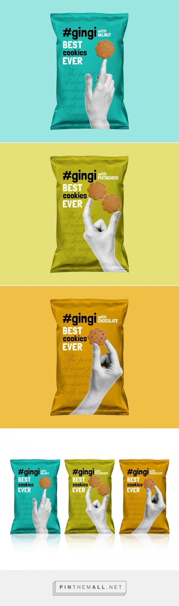 Gingi Cookies Packaging Design | MAISON D'IDÉE - created via http://pinthemall.net