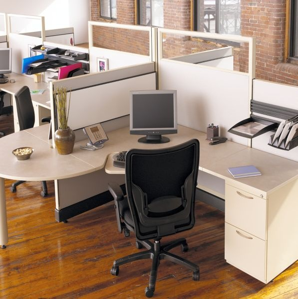 32 best desk systems images on pinterest | desk, office spaces and