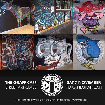 Graff Caff x Sam Shennan: Street art class