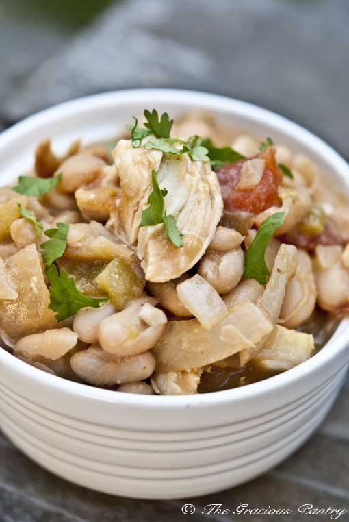 Clean Eating White Chicken Chili