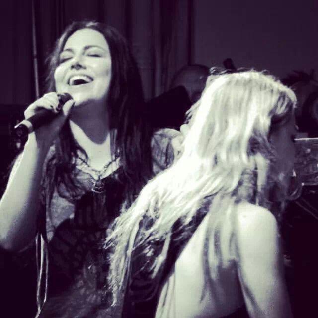 Amy Lee  Lzzy Hale, my two favorite female rock stars!