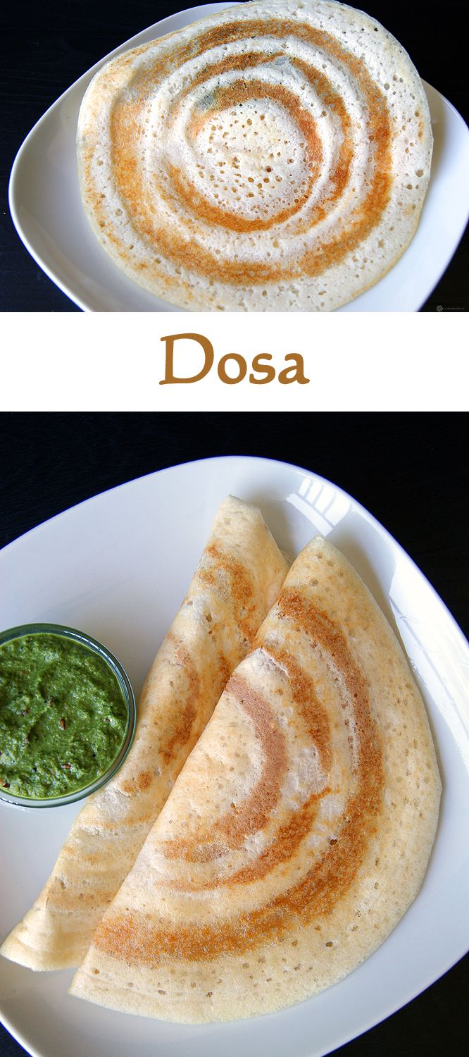 Dosa is a staple breakfast of South Indians. It is basically a savory crepe made from fermented rice and dal batter. Learn how to prepare a dosa batter and make the perfect dosa.