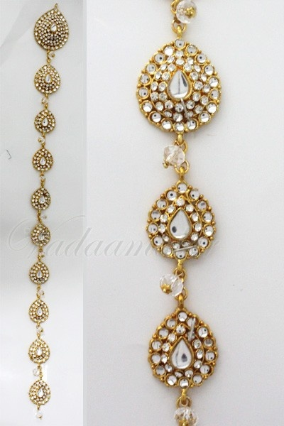Indian Hair Braid Decoration Paranda Or Paraanda Indian Accessories Pinterest