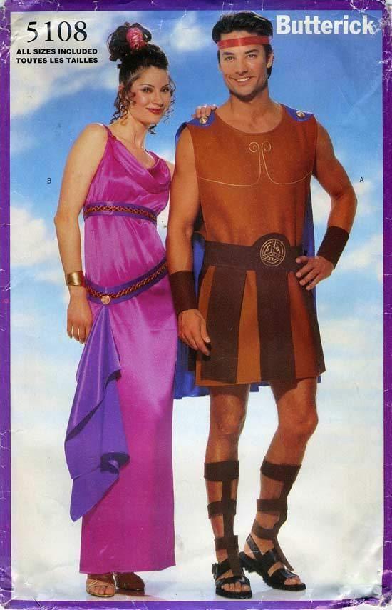 Hercules and Meg Costume pattern Butterick 5108
