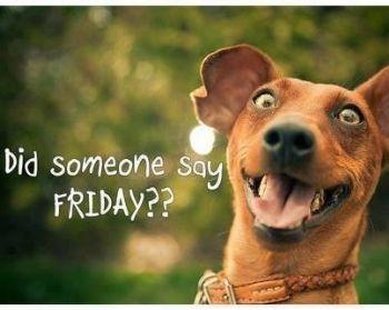 It's Friday !!