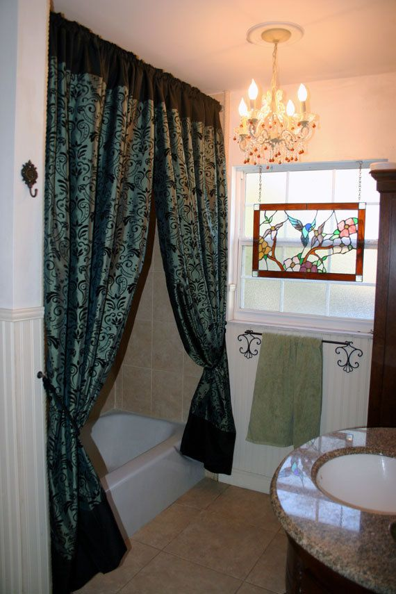 Looking For A Pretty Shower Curtain With Valence..but Not For