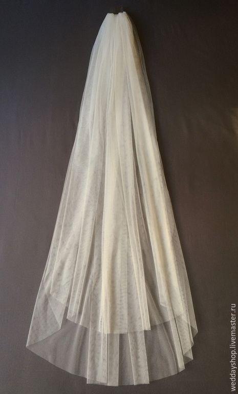 """Купить Свадебная фата """"Bridal Veil"""" (6036) - фата невесты, фата, фата длинная"""