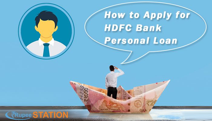 How To Apply For Hdfc Bank Personal Loan Personal Loans How To Apply Loan