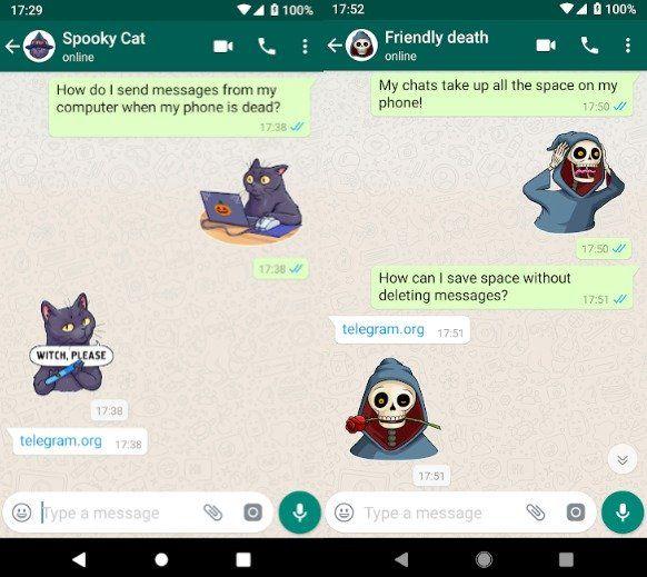Stickers Telegram Para Whatsapp Ios Telegram Stickers New Sticker Stickers