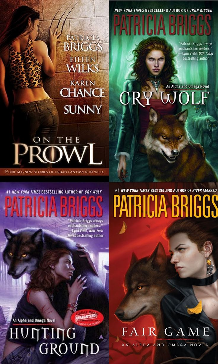 Alpha And Omega By Patricia Briggs (spin Off From Mercy Thompson Series)  Love Me