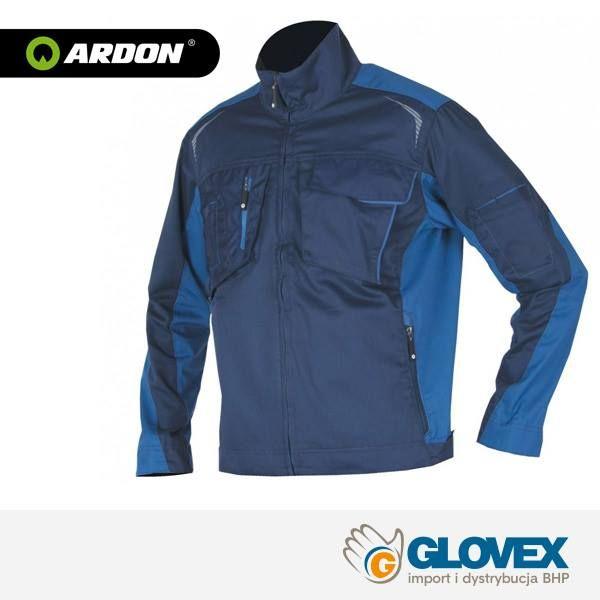 Bluza robocza Ardon R8ED+01 charakteryzuje się nowoczesnym, ergonomicznym fasonem, rękawy krojone do anatomicznych krzywizn ręki w zgięciu podczas pracy. Zapewnia pełną swobodę ruchów. Jest zapinana na suwak kryty. Przy mankietach znajdują się tunele dopasowujące. Regulowane patki w dolnej części pozwalają na lepsze dopasowanie kurtki do sylwetki i zapobiegają uciekaniu ciepła.
