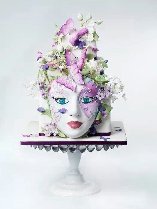 Face cake by the Brighton Cake Company