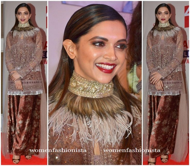 Deepika Padukone in an embellished outfit