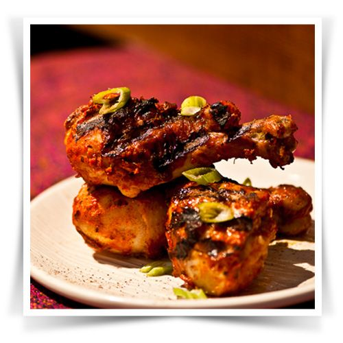 Spicy Cumin and Ginger Chicken Drumsticks #Pataks #Grill #BBQ #Summer #Barbecue #Recipe #IndianFood #India #MixinaLittleIndia #MixinaLittleBBQ