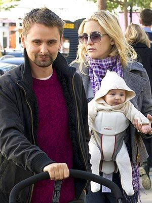 BABY HUDSON-BELLAMY After spending time in New York where she's filming her new movie, Kate Hudson continued her globetrotting adventures with 3-month-old son Bingham over the weekend.     On Saturday, the two stepped out in London's Notting Hill, enjoying a sunny stroll and some casual family time with Hudson's fiancé, Matthew Bellamy.