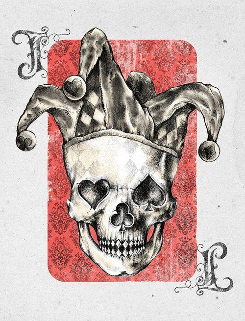 Skull by Alan Maia http://www.creativeboysclub.com/
