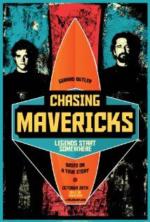 Surfer Jay Moriarity sets out to ride the Northern California break known as Mavericks in 'Chasing Mavericks', starring Jonny Weston, Gerard Butler, and Elisabeth Shue.