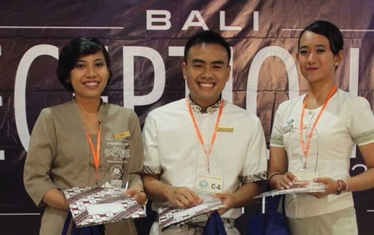 #HFLA @KutaHeritage : Hotel Front Liners Association (HFLA) crowned Imanullah Edwin Kerukaspari from The Kuta Heritage Hotel as the winner of Bali Receptionist of The Year 2014.