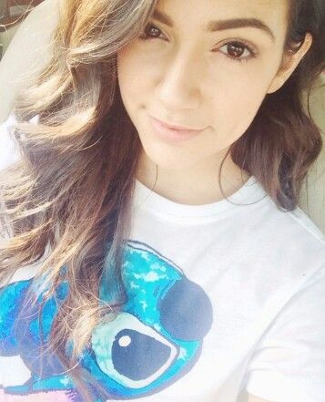 Bethany and her stitch shirt