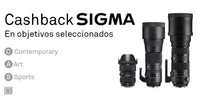 Promociones Sigma Arranca un Cash Back Sigma , asi que puede ser el momento de comprar algunos de los objetivos del prestigioso fabricante ja`pones , …