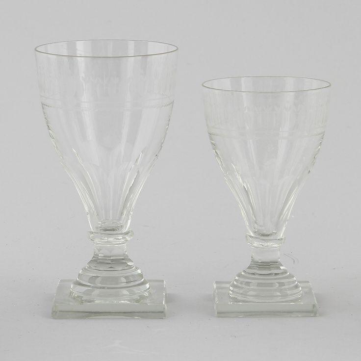 Bilder för 102584. GLASSERVIS, 24 delar, gustaviansk stil, troligen Kosta. – Auctionet