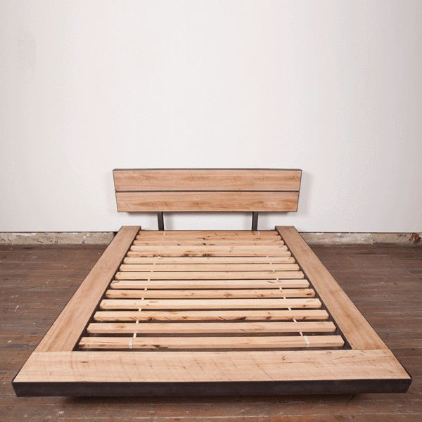 Platform Bed. Timber FurnitureWood BedsRecycled WoodSydney ...