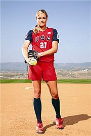 Jenny Finch. My all time favorite role model.