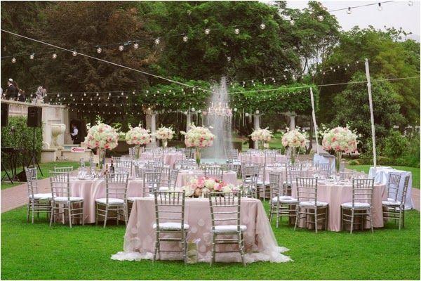 Mansion Backyard Wedding : Ambassador Mansion and Gardens Blush Wedding by Maria Longhi Photogra