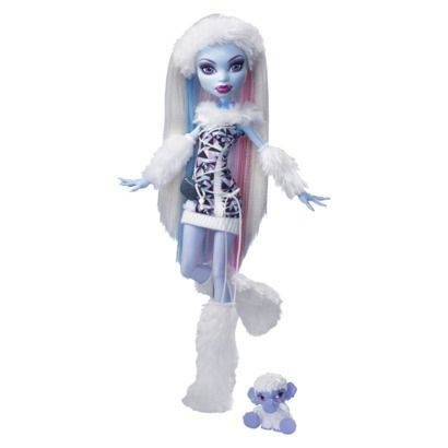 Monster High Abbey Bominable Doll - They love to play with their Monster High dolls and accessories!