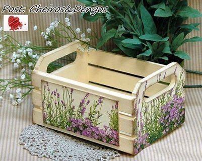 muebles reciclados con decoupage - Buscar con Google