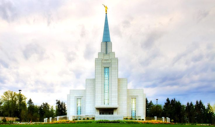 Vancouver British Columbia Temple in Township of Langley, BC