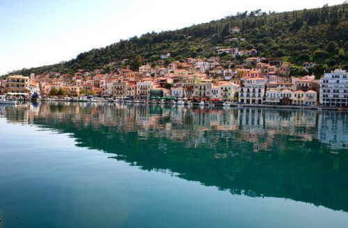 Gythion - catch a ferry boat from here to Kythera