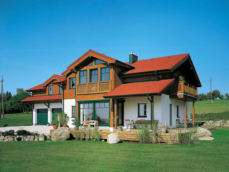 Fassadengestaltung einfamilienhaus grau  Fassadengestaltung Einfamilienhaus - Ideen und Bilder | Schöne ...