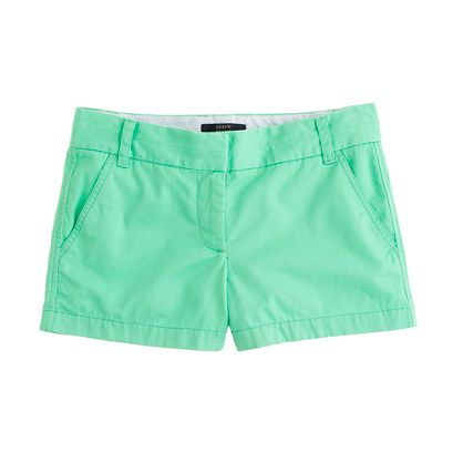 "3"" chino short - chino & cotton - Women's shorts - J.Crew"
