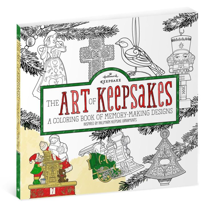 The Art Of Keepsakes Is A Coloring Book For Adults That Features Illustrations Original Keepsake