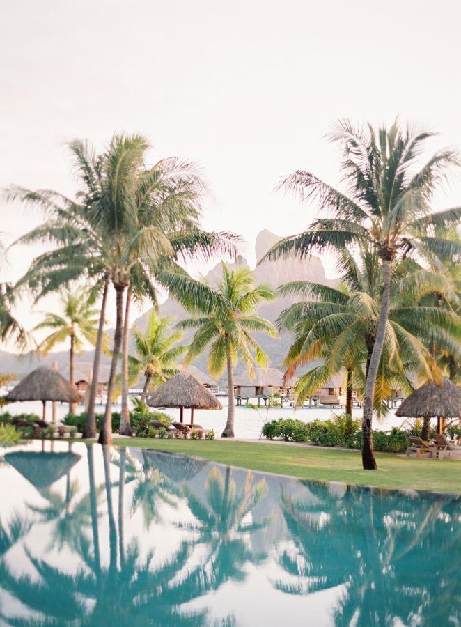 Gorgeous Bora Bora: http://www.stylemepretty.com/vault/gallery/38052 | Photography: Jose Ville - http://josevilla.com/