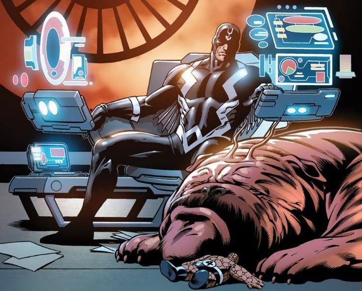 Black Bolt and Lockjaw -   marvel Inhumans hd - Google-Suche