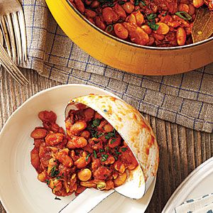 Smoky Baked Beans with Chorizo Recipe: Summer Side Dishes, Myrecipes Com, Dry Beans, Cooking Lights, Baking Beans, Beans Recipes, Baked Beans, Chorizo Recipes, Smoky Baking